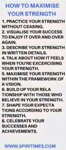 How To Maximise Your Strength