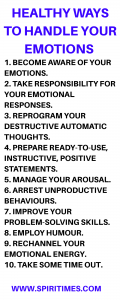 Healthy Ways To Handle Your Emotions