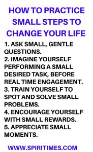 Small Steps To Change Your Life