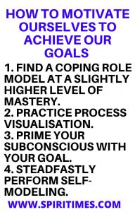 How To Motivate Ourselves To Achieve Our Goals