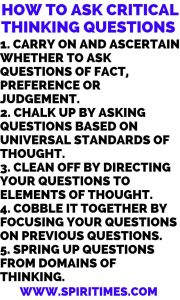 How To Ask Critical Thinking Questions