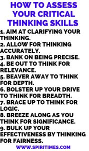 How To Assess Your Critical Thinking Skills