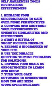 Self Awareness Tools